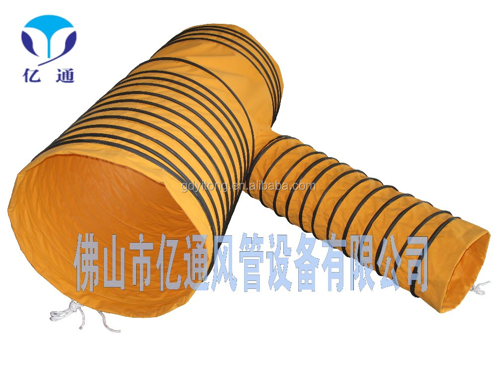 Y-type pvc roll coated duct connector