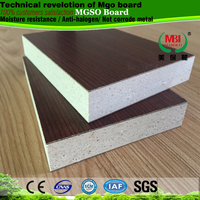 Anti-moisture hpl mgo sulphate composite board used for living room furniture partition cabinet toilet cubicle partition