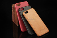 2016 Fashion mobile leather flip back case cover for iphone SE
