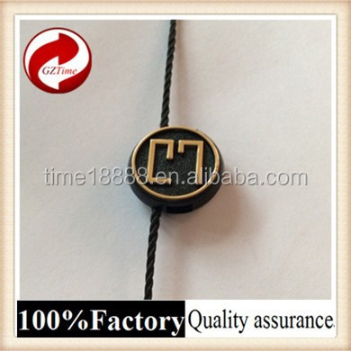 Fashional good quality plastic seal tag with logo plastic string tag names of string instruments