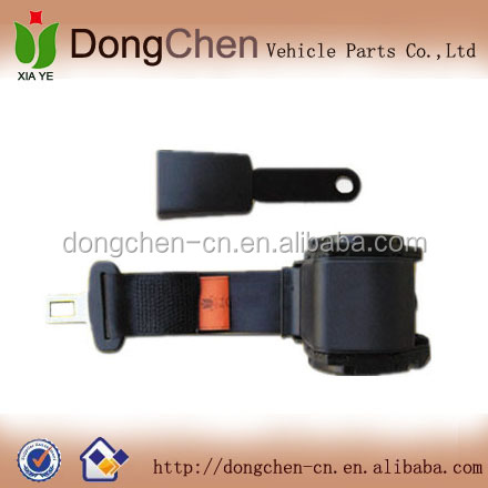 automobile 2 point safety seat belt,two point seat belt,simple 2point seat belts