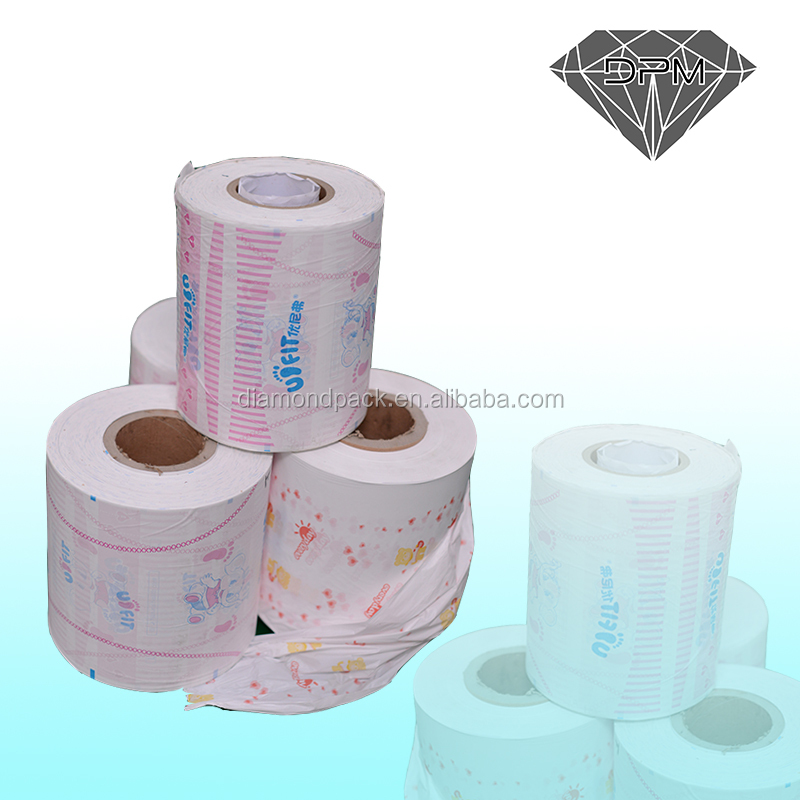 ISO 9001 breathable pe plastic film of baby diaper back sheet