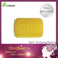 Self-gripping hair rollers CR049/plastic hair roller clips/hair roller types