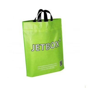 Excellent quality custom logo printed heat sealed recyclable plastic bags for shopping