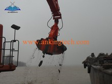 Good Quality Excavator Hydraulic Clamshell Grab Bucket For Bulk Cargo Handing