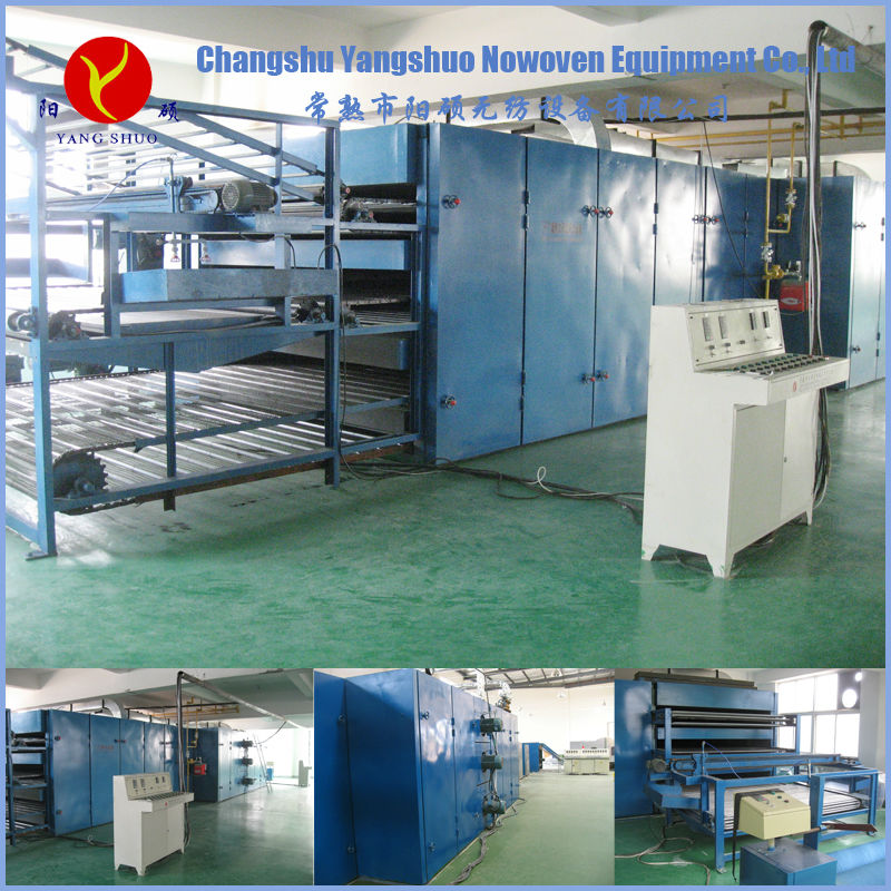 polyester wadding fabric making machine from nonwoven manufacturers
