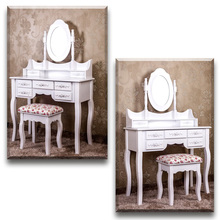 Handmade wooden dressing table with modern designs