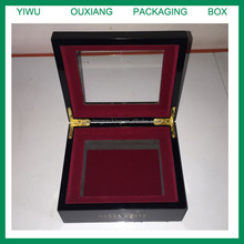 custom design playing cards custom design wooden box with glass lid