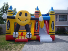 Plastic used commercial bouncers sale giant inflatable bouncer for wholesales