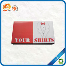 High quality custom printed wholesale cheap t-shirt packaging boxes