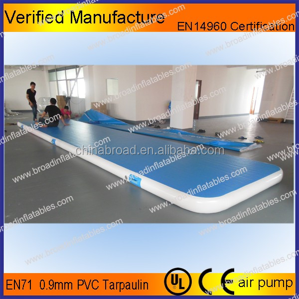 High quality double wall drop stitch gymnastics spring floor