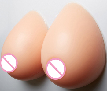 Strap-on Full Silicone Fake Boobs Drag Queen Breast Enhancers