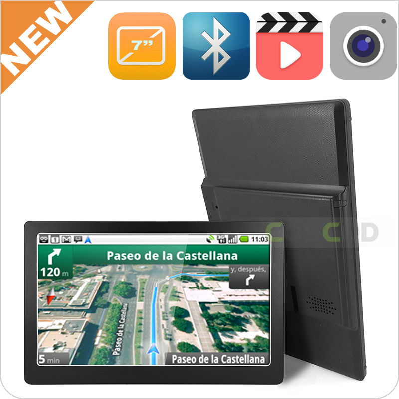 Made in China 7 inch mass production free gps maps for windows ce 6.0 navigation