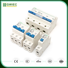 GWIEC Wholesale China Factory CE Electrical C45 Mcb DZ47-63 1P Mini Circuit Breaker