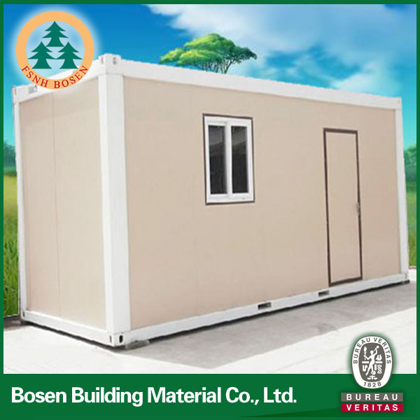 Good insulation prefabricated shipping containe homes small portable buildings