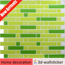 High quality self adhesive kitchen wall tiles used for small kitchen design