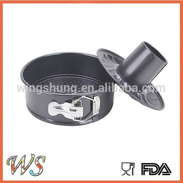 WS-D6016 Carbon Steel Baking Pan with Cookie Moulds