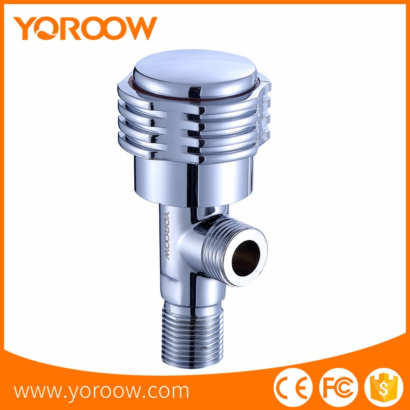 Colombia New Fashion water inlet two way brass angle valve