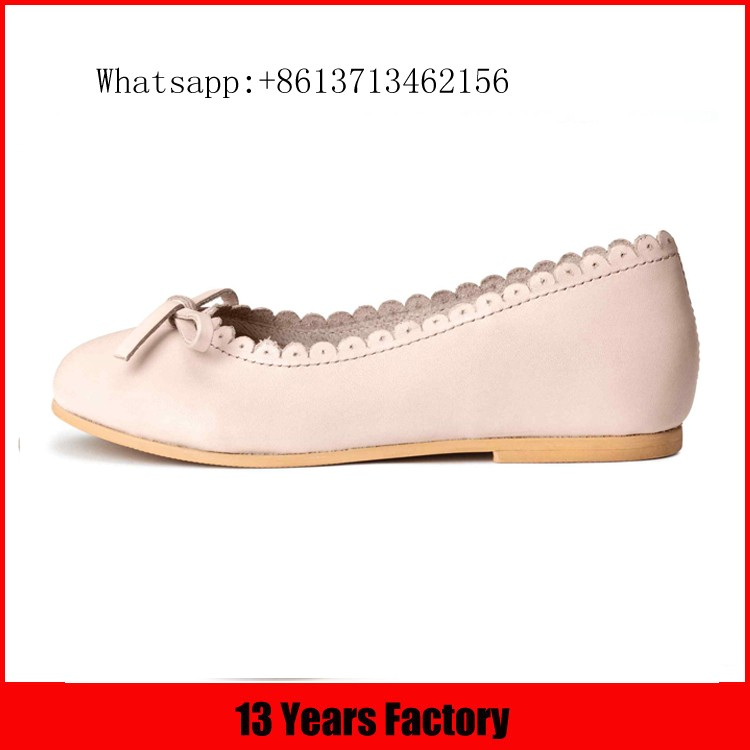 2017 spring new style kid shoe pritting leather upper comfortable outsole lace ornament cute shoes for baby shoes