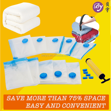 Cloth Use and Plastic Material Mixed sizes Vacuum Storage Bag
