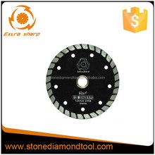 Small Turbo Diamond Saw Blade for Marble and Granite Cutting with Angle Grinder