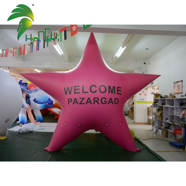 Large PVC Customized Party Inflatable Star Parade Decoration Model Balloon