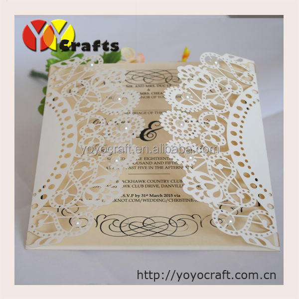 professional supplies to make invitations elegant classic wedding invitation cards with pearls folk art invitation card