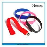 High quality OEM wristband usb flash dirve custom usb