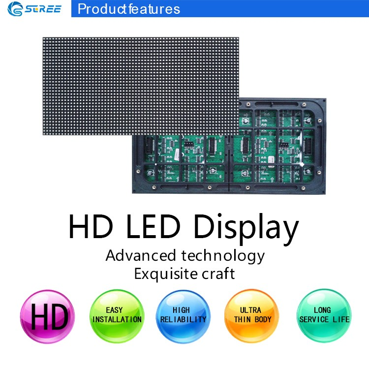Popular large P5 outdoor led stage screen module