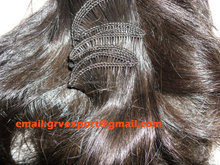 silky straight 100% peruvian virgin hand tied hair weft hair