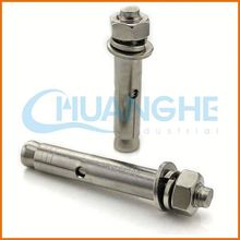 High quality low price steel earth screw anchor/expansion bolt