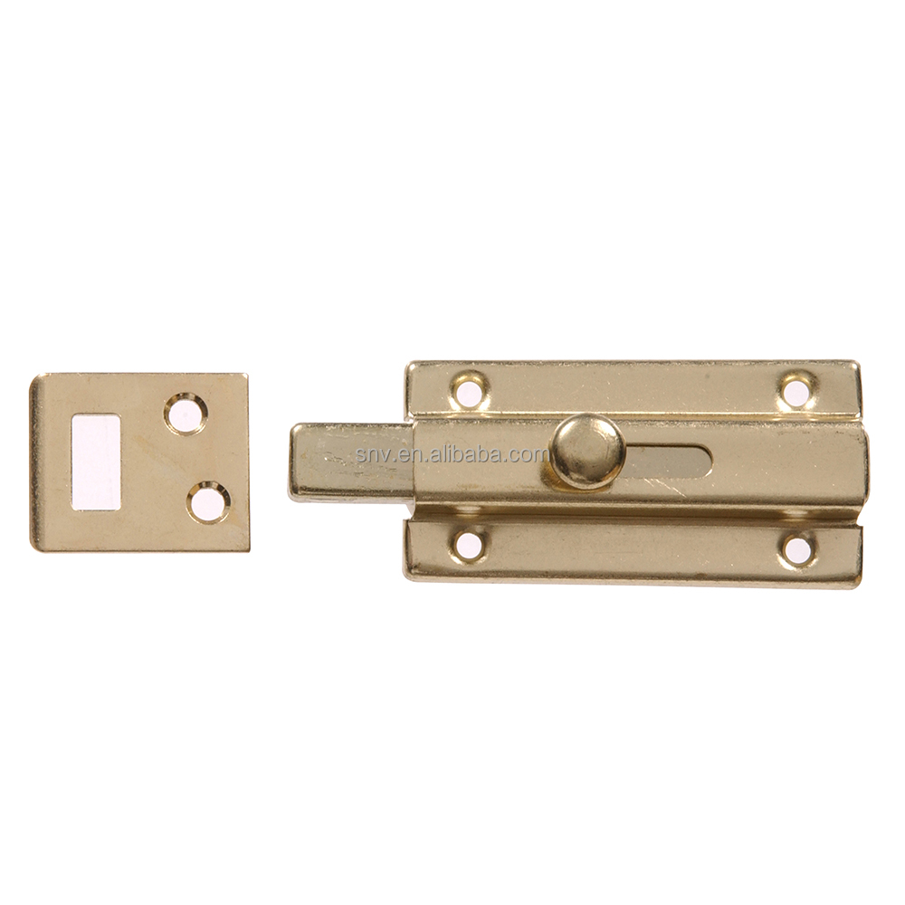 Sliding Brass Door Security Latch Lock Door Bolt