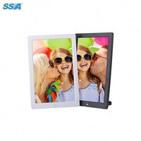 commercial gift 12 inch video picture audio loop play electronic digital photo frame with Rohs CE,FCC