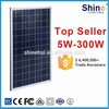 China good quality 250w poly pv solar panel with 10 years warranty