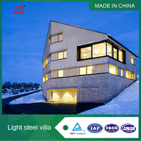 Energy Saving Prefabricated Steel Villa House in China