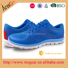 light weight safety breathable mesh fabric sports shoes