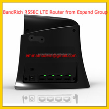 BandRich R558C, BandRich BandLuxe R558C LTE/HSPA + Wi-Fi Router