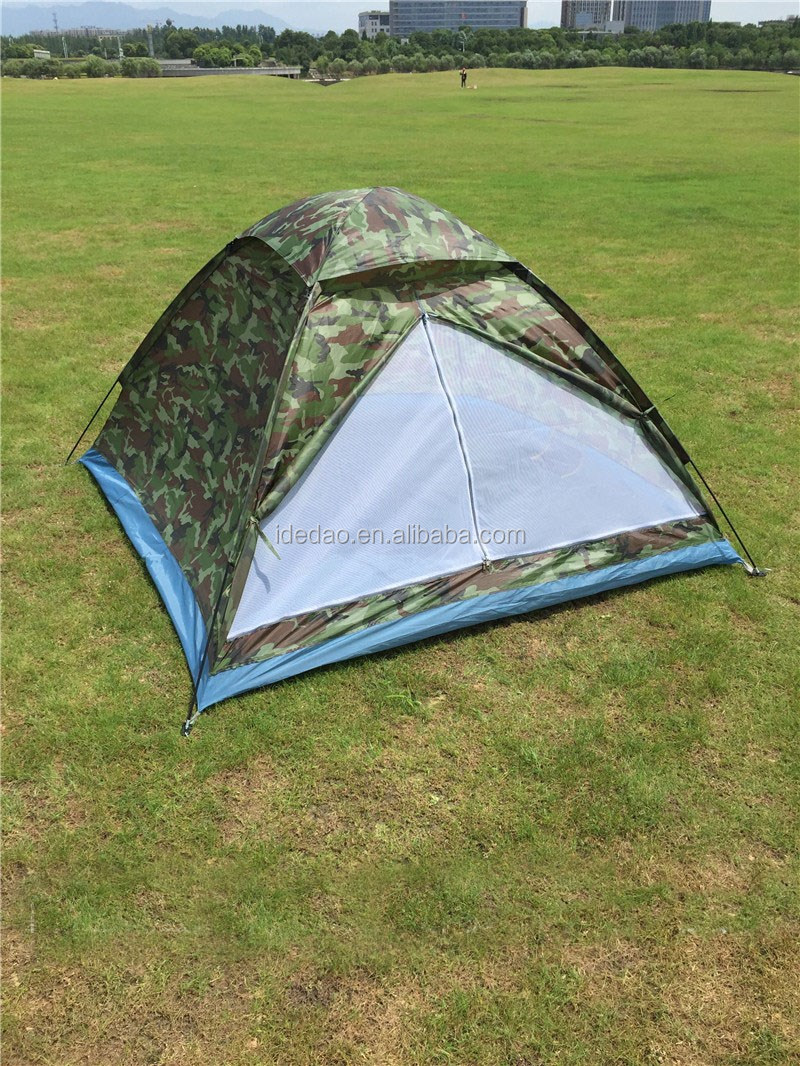 TY-Z1005 YIWU wholesale outdoor auto tent hexagon camp camping military camouflage 4 people room tent tabernacle