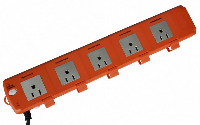 5 outlet american 120V power voltage surge protector