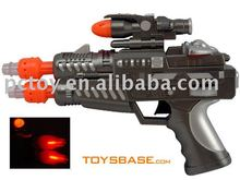 Electric plastic toy pop gun for kids BZC115686