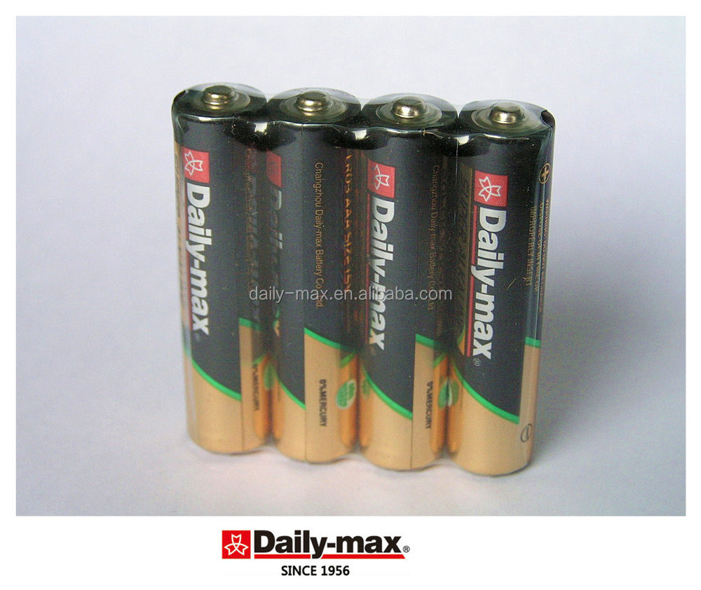 AAA LR03 Nominal Voltage 1.5V Battery