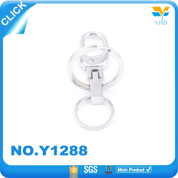 Hot selling fashion swivel small decoration metal snap hook for handbag