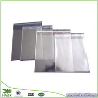 Clear cellophane Opp bag with header & self adhesive seal bag