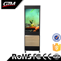 42 Inch Floor Stand China Internet Kiosk Avi Player Standalone Media Player Vertical Lcd Panel Stand Advertising Display