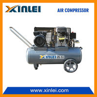 XINLEI portable AC power 2KW belt piston air compressor 2.75HP ZA55-50L