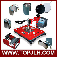 Heat press machine 8 In 1 Combo Heat Press Machine For Printing T-shirt Shoes Plate Cap