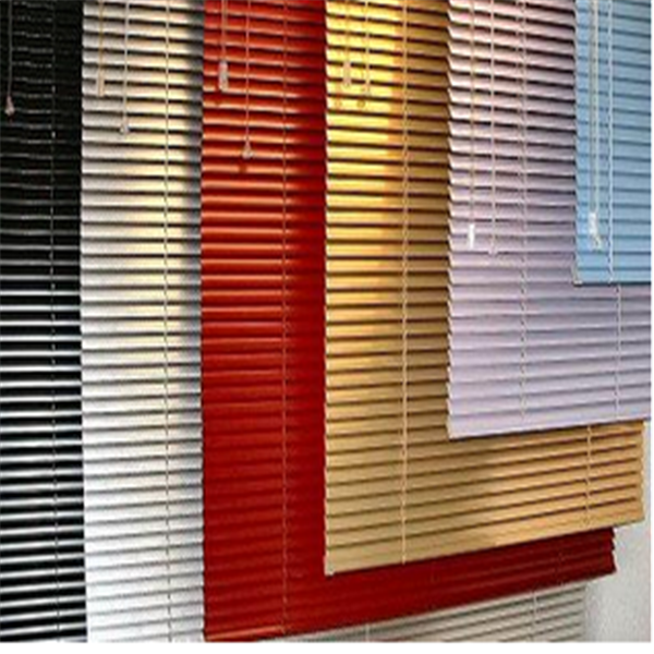 2017 Factory Price good quality 25mm 35mm 50mm blade aluminium venetian blinds