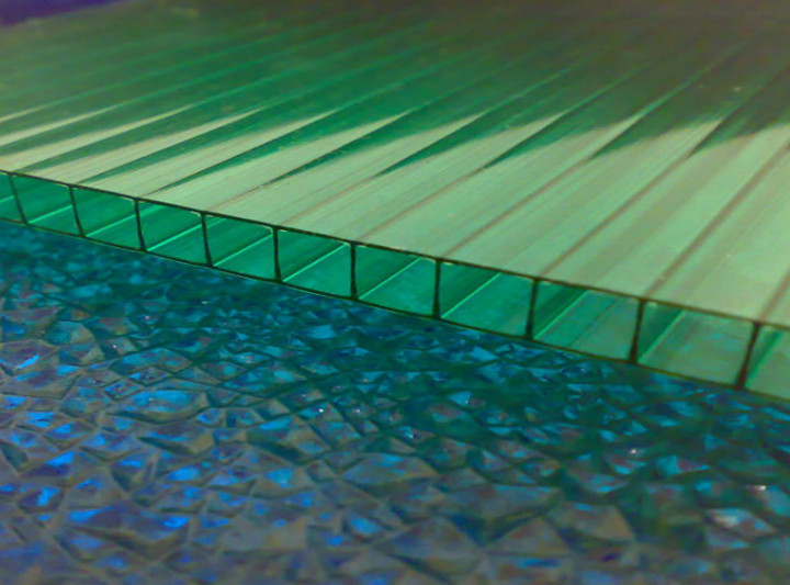 sun protection sheet for house balcony roof covering 4mm polycarbonate panel