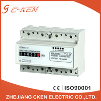 Cken Alibaba China 3X220/380V 50Hz Register Three Phase Four Wire Energy Meter Digital Counter Type Kwh Meter , Watt-hour Meter