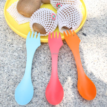 custom children plastic spoon/decorative plastic forks